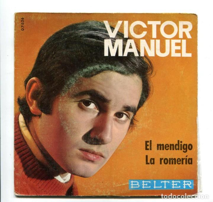 VICTOR MANUEL. SINGLE. (Música - Discos - Singles Vinilo - Cantautores Españoles)