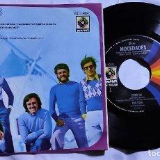 Discos de vinilo: MOCEDADES - ERES TÚ - RIN RON - ADIOS AMOR - AYER DEL AÑO 1973 MÉXICO (MUY RARO). Lote 193772183