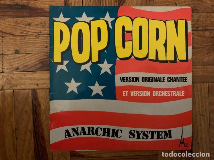 ANARCHIC SYSTEM – POP CORN SELLO: DISC'AZ – AZ 10.796, SÉRIE GÉMEAUX – SG 397 FORMATO: VINYL, 7 (Música - Discos - Singles Vinilo - Electrónica, Avantgarde y Experimental)