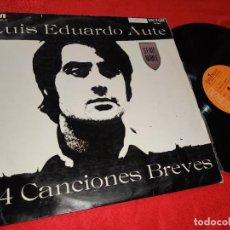 Discos de vinilo: LUIS EDUARDO AUTE 24 CANCIONES BREVES LP 1968 RCA VICTOR RARO. Lote 193783095