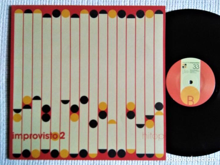 VARIOUS - '' IMPROVISTO 2 '' LP 2003 SPAIN (Música - Discos de Vinilo - EPs - Funk, Soul y Black Music)