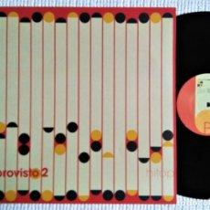 Discos de vinilo: VARIOUS - '' IMPROVISTO 2 '' LP 2003 SPAIN. Lote 193783786