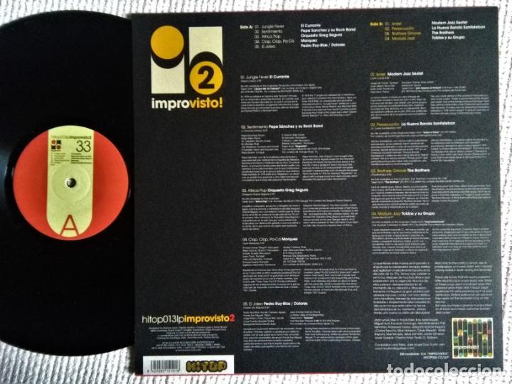Discos de vinilo: VARIOUS - IMPROVISTO 2 LP 2003 SPAIN - Foto 2 - 193783786