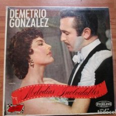Discos de vinilo: DEMETRIO GONZALEZ MELODIAS INOLVIDABLES ( LP HECHO EN MEXICO ) CIELITO LINDO - GUADALAJARA- . Lote 193785631