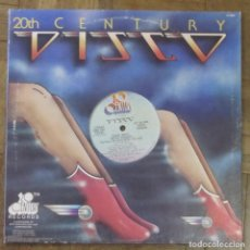 Discos de vinilo: 20TH CENTURY DISCO. BARRY WHITE. 20TH CENTURY RECORDS, D-1000. USA, 1977. FUNDA VG+. DISCO VG++. Lote 193787135