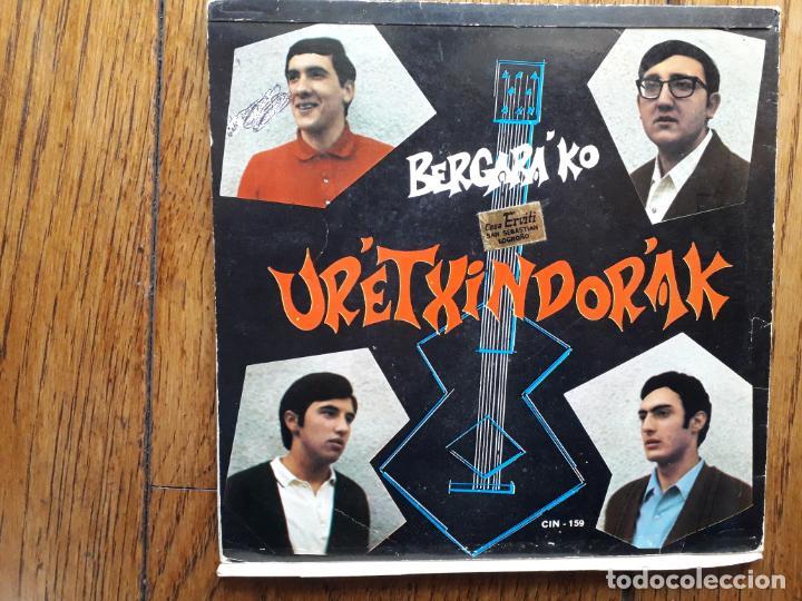 Discos de vinilo: Bergarako urretxindorrak - aurresku + aita barik - Foto 3 - 193787961