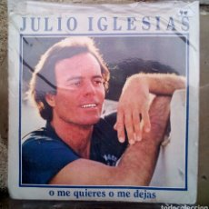 Discos de vinilo: SINGLES JULIO IGLESIAS. Lote 193791497