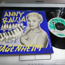 Discos de vinilo: ANNY RAUJA CHANTE GABY WAGENHEIM EP FRANCIA. Lote 193792431