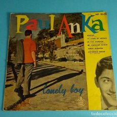 Discos de vinilo: PAUL ANKA. LONELY BOY. HISPAVOX. Lote 193800143