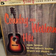 Discos de vinilo: COUNTRY AND WESTERN HITS STEREO-FIDELITY ?– SF-107, CAJA CON 5 LPS . Lote 193806143