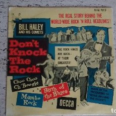 Discos de vinilo: EP DEL CANTANTE NORTEAMERICANO DE ROCK AND ROLL, BILL HALEY, SWEDEN FIRST PRESS ( AÑO 1956 ). Lote 193810205