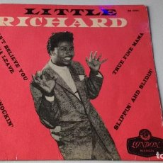 Discos de vinilo: EP DEL CANTANTE NORTEAMERICANO DE ROCK AND ROLL, LITTLE RICHARD, SWEDEN FIRST PRESS ( AÑO 1958 ). Lote 193810591