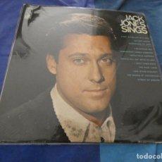 Discos de vinilo: LP BUEN ESTADO JACK JONES SINGNS KAPP USA 60S ALGUNAS LINEAS FINAS AUN DECENTE . Lote 193818173