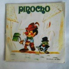 Discos de vinilo: PINOCHO DISCO + CUENTO MOVIEPLAY 1972. Lote 193818291