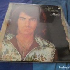 Discos de vinilo: LP NEIL DIAMOND MOODS ESPAÑA 70S UNA LINEA FINA EN UNA CARA MUY CORRECTO. Lote 193819096