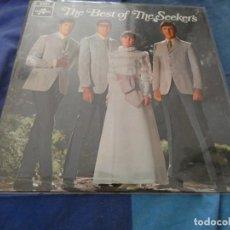 Disques de vinyle: LP UK MUY BUEN ESTADO THE BEST OF THE SEEKERS AÑOS 60. Lote 193820401