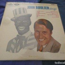 Discos de vinilo: LP JOHN BOULTER SINGS HMV UK MUY BUEN ESTADO RARO. Lote 193820760