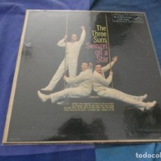 Discos de vinilo: LP AMERICANO DE EPOCA THE THREE SUNS SWINGING ON A STAR CORRECTO. Lote 193821677