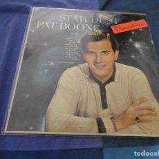 Discos de vinilo: LP AMERICANO DE EPOCA PRECIOSO PAT BOONE STAR DUST CON UN PAR DE MARCAS LEVES DECENTE . Lote 193821908