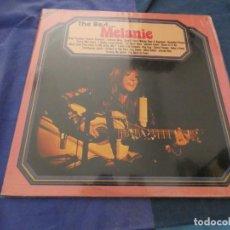 Disques de vinyle: LP AMERICANO MELANIE THE BEST OF BUDDAH RECORDS 1972. Lote 193822361
