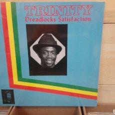 Discos de vinilo: TRINITY –DREADLOCKS SATISFACTION . LP VINILO PRECINTADO. ROOTS REGGAE. Lote 193822398