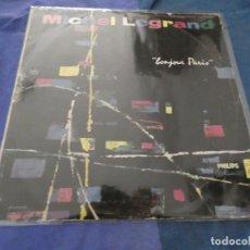 Discos de vinilo: LP MUY BUEN ESTADO MICHEL LEGRAND BONJOUR PARIS, UNOS 60 AÑOS DE ANTIGUEDAD . Lote 193823057