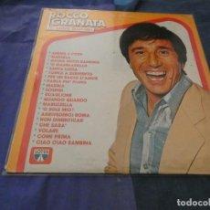 Discos de vinilo: LP MUY BUEN ESTADO ROCCO GRANATA 20 FANTASTIC ITALIAN SONGS. Lote 193823116