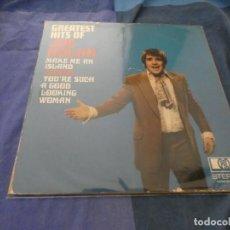 Discos de vinilo: LP UK AÑOS 70 BUEN ESTADO THE GREATEST HITS OF JOE DOLAN . Lote 193825431
