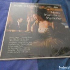 Discos de vinilo: LPUSA AÑOS 50 JACKIE GLEASON PRESENTS MUSIC MARTINIS AND MEMORIES A REPEGAR CANTO INFERIOR. Lote 193825572