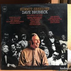 Discos de vinilo: DAVE BRUBECK: SUMMIT SESSIONS (CBS S 64377) (D:NM/C:NM). Lote 193825986