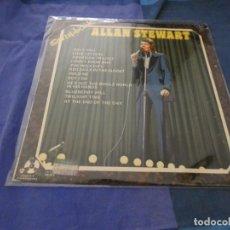 Discos de vinilo: LP UK AÑOS 70 THE ALLAN STEWART SCRAPBOOK VINILO LEVES SEÑALES DE USO ACEPTABLE. Lote 193826497