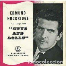 Discos de vinilo: EDMUND HOCKRIDGE - I'VE NEVER BEEN IN LOVE BEFORE + 3 (45 RPM) EDIC. INGLESA - EX+/EX++. Lote 193826732