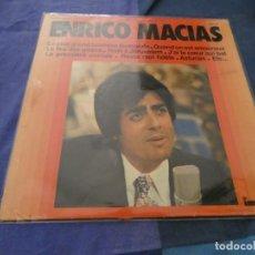 Discos de vinilo: LP FRANCES AÑOS 70 ENRICO MACIAS, CORRECTO. Lote 193826940