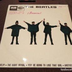 Discos de vinilo: EP VINILO THE BEATLES - HELP + 3 - 7'' EP 1965 ORIG. SPAIN DSOE 16.675. Lote 193827690