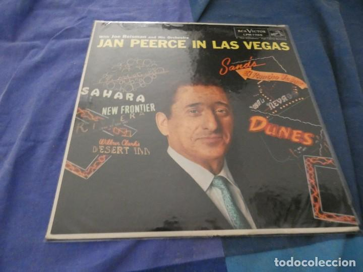 LP JAN PIERCE IN LAS VEGAS AMERICANO RCA DE EPOCA MUY BUEN ESTADO CANTO INFERIOR A REPEGAR (Música - Discos - LP Vinilo - Cantautores Extranjeros)