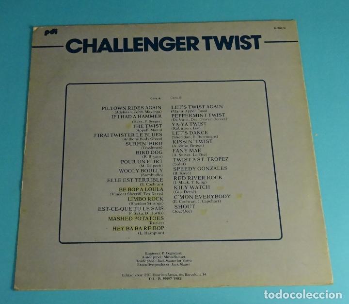 Discos de vinilo: CHALLENGER TWIST - Foto 2 - 193828220