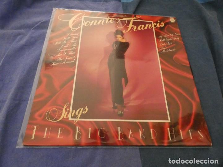 LP 1977 CONNIE FRANCIS SINGS BIG BAND HITS 1977 BUEN ESTADO (Música - Discos - LP Vinilo - Cantautores Extranjeros)