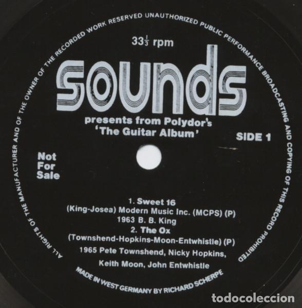 THE WHO / B.B. KING / RORY GALLAGHER / ERIC CLAPTON (FLEXI DISC) EDIC. INGLESA DE 1973 - VG/VG (Música - Discos de Vinilo - EPs - Pop - Rock Extranjero de los 70)