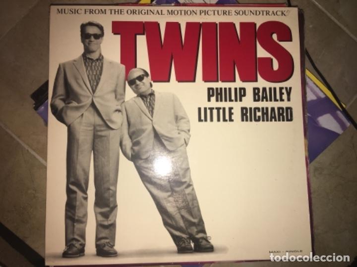 TWINS: PHILIP BAILEY (Música - Discos de Vinilo - Maxi Singles - Otros estilos)