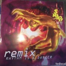 Discos de vinilo: SNAP: REMIX. Lote 193830556