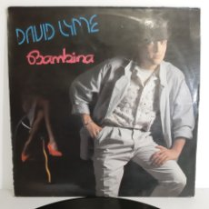 Discos de vinilo: RARO. DAVID LYME. BAMBINA MAXISINGLE. SPAIN. MAX MUSIC.. Lote 193832426