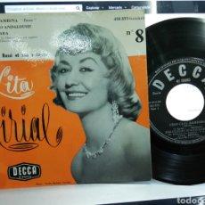 Discos de vinilo: LITA MIRIAL EP CIAO CIAO BAMBINA + 3 FRANCIA 1959. Lote 193834508