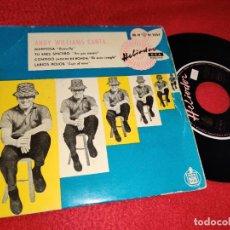 Discos de vinilo: ANDY WILLIAMS MARIPOSA BUTTERFLY/TU ERES SINCERO/LABIOS ROJOS +1 EP 1959 ESPAÑA SPAIN. Lote 193835270