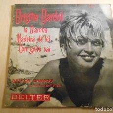 Discos de vinilo: NESTOR CAMPOS Y SUS BRASILEIROS, EP, BRIGITTE BARDOT + 3, AÑO 1961. Lote 193837971