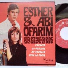 Discos de vinilo: ESTHER & ABI OFARIM - CANARIO - EP 1968 - PERGOLA. Lote 193839383
