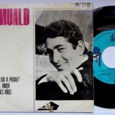 Discos de vinilo: ROMUALD - DONDE HAN IDO A PARAR - EP 1964 - DISC AZ. Lote 193842043