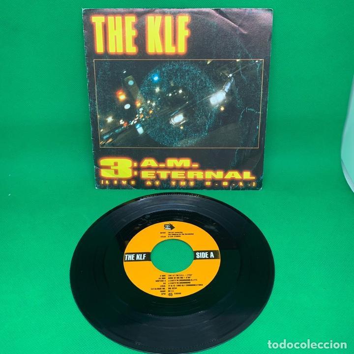 Discos de vinilo: SINGLE THE KLF 3:AM ETERNAL. VG - Foto 2 - 193842620