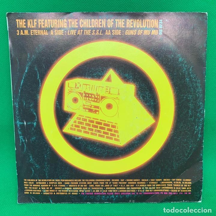 Discos de vinilo: SINGLE THE KLF 3:AM ETERNAL. VG - Foto 3 - 193842620