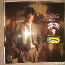 Discos de vinilo: FRANCISCO: LATINO. Lote 193842886