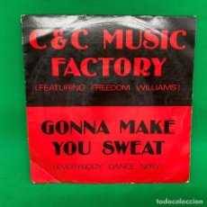 Discos de vinilo: SINGLE C&C MUSIC FACTORY FEATURING FREEDOM WILLIAMS. VG+. Lote 193843400